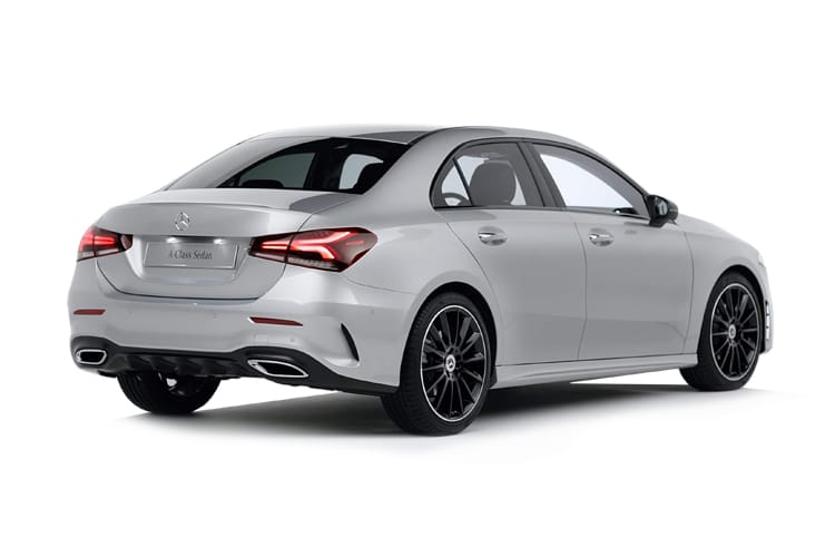 Mercedes-Benz A Class A250 Saloon 4Dr 2.0  224PS AMG Line Premium Plus 2 4Dr 7G-DCT [Start Stop] back view