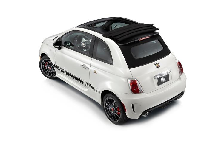 Abarth 595 C Cabrio 1.4 T-Jet 180PS EsseEsse 70th 2Dr Manual back view