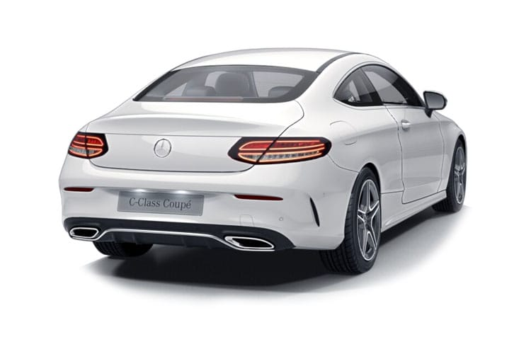 Mercedes-Benz C Class AMG C43 Coupe 4MATIC 3.0 V6 390PS Night Edition Premium Plus 2Dr G-Tronic+ [Start Stop] back view
