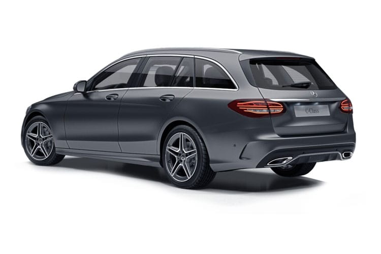 Mercedes-Benz C Class C300 Estate 4MATIC 2.0 d 245PS AMG Line Edition 5Dr G-Tronic+ [Start Stop] back view