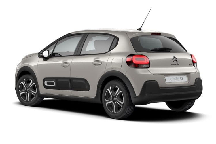 Citroen C3 Hatch 5Dr 1.2 PureTech 83PS Flair 5Dr Manual [Start Stop] back view