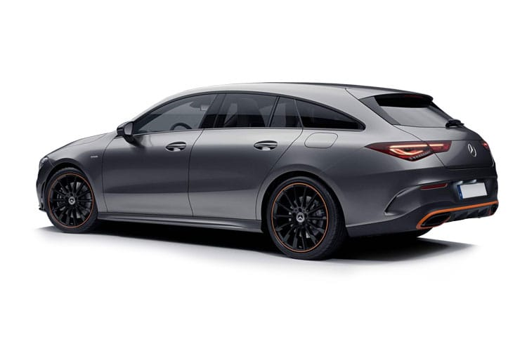 Mercedes-Benz CLA AMG CLA45 ShootingBrake 4MTC+ 2.0  421PS S 5Dr 8G-DCT [Start Stop] back view