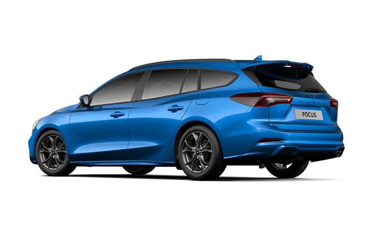 Ford Focus Estate 2.0 EcoBlue 150PS Titanium Edition 5Dr Manual [Start Stop] back view