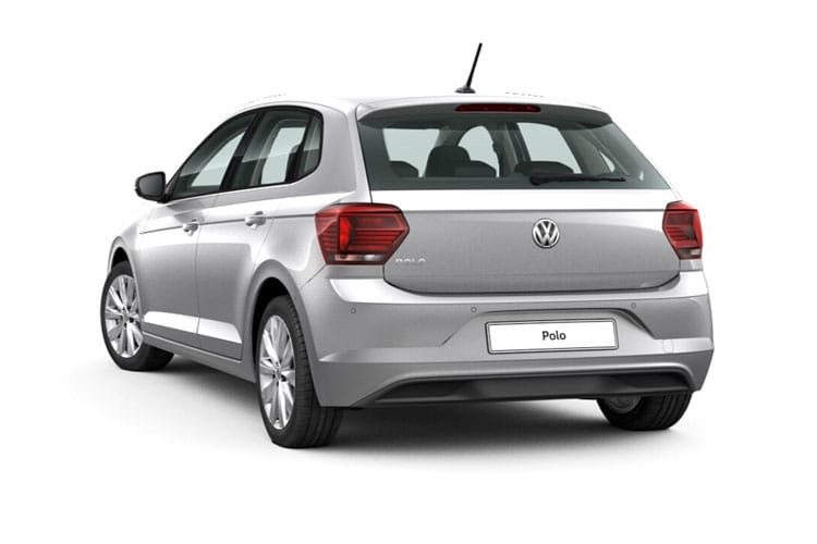 Volkswagen Polo Hatch 5Dr 1.0 TSI 110PS R-Line 5Dr Manual [Start Stop] back view