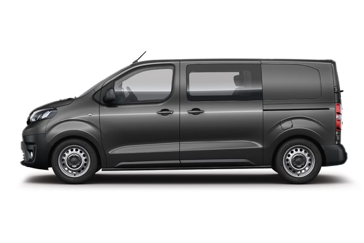 Toyota PROACE Medium 2.0 D FWD 120PS Icon Crew Van Manual [Start Stop] [Premium] back view