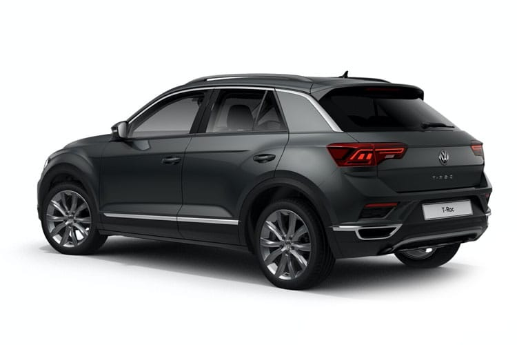 Volkswagen T-Roc SUV 2wd 1.0 TSI 110PS United 5Dr Manual [Start Stop] back view