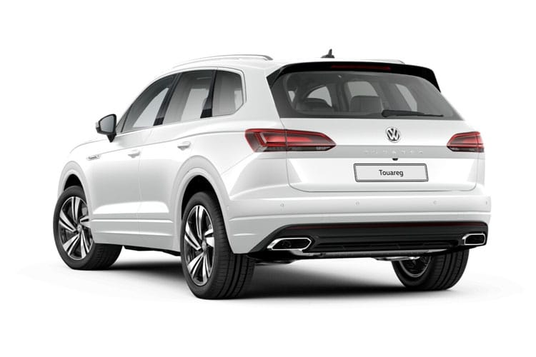 Volkswagen Touareg SUV 4Motion 3.0 V6 TDI 286PS Black Edition 5Dr Tiptronic [Start Stop] back view