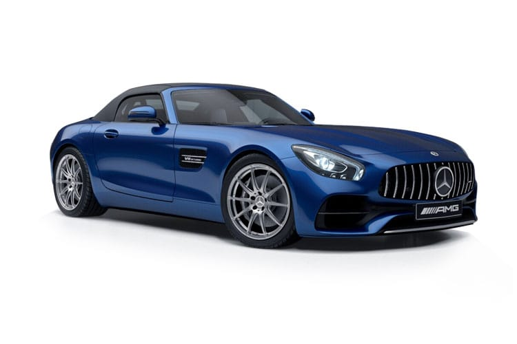 Mercedes-Benz AMG GT AMG GT Roadster 4.0 V8 BiTurbo 557PS C 2Dr SpdS DCT [Start Stop] front view