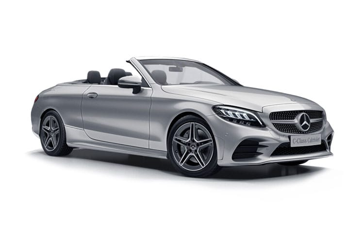 Mercedes-Benz C Class C200 Cabriolet 1.5 MHEV 198PS AMG Line Edition 2Dr G-Tronic+ [Start Stop] front view