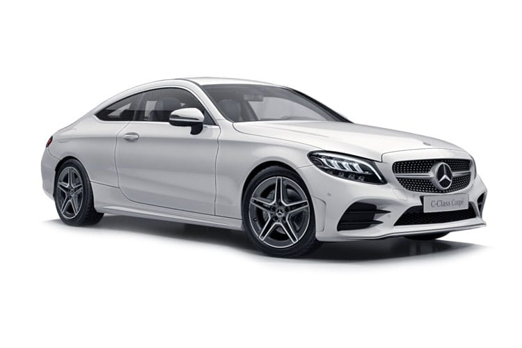 Mercedes-Benz C Class AMG C43 Coupe 4MATIC 3.0 V6 390PS Night Edition Premium Plus 2Dr G-Tronic+ [Start Stop] front view