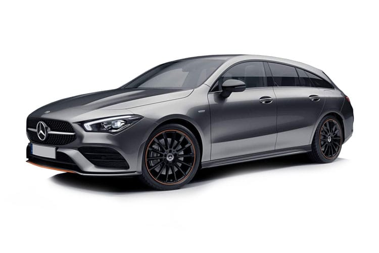 Mercedes-Benz CLA AMG CLA45 ShootingBrake 4MTC+ 2.0  421PS S 5Dr 8G-DCT [Start Stop] front view