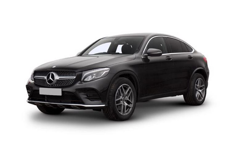 Mercedes-Benz GLC GLC300e Coupe 4MATIC 2.0 PiH 13.5kWh 333PS AMG Line 5Dr G-Tronic+ [Start Stop] front view