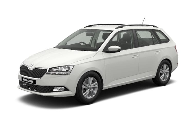 Skoda Fabia Estate 1.0 TSi 110PS SE Drive 5Dr Manual [Start Stop] front view