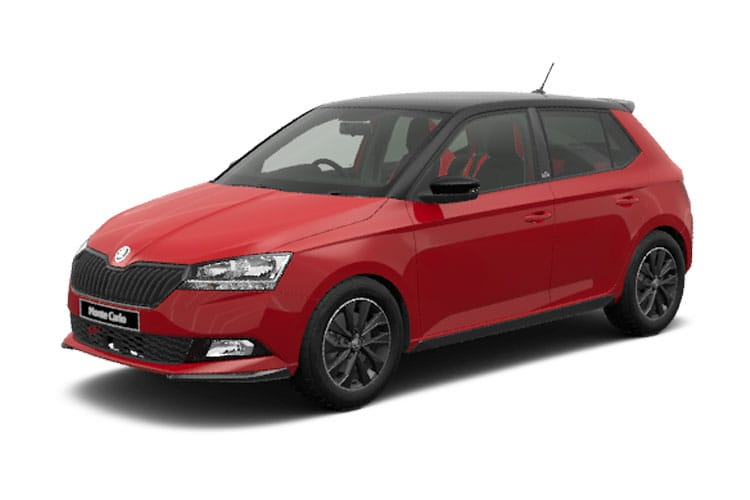 Skoda Fabia Hatch 5Dr 1.0 TSi 95PS SE L 5Dr Manual [Start Stop] front view