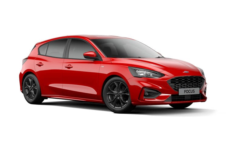 Ford Focus Hatch 5Dr 1.0 T EcoBoost 125PS ST-Line X Edition 5Dr Auto [Start Stop] front view