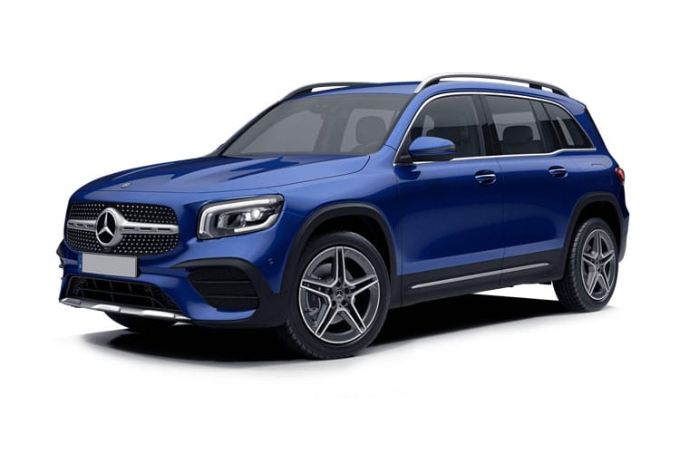 Mercedes-Benz GLB GLB200 SUV 4MATIC 2.0 d 150PS AMG Line Premium Plus 5Dr G-Tronic [Start Stop] front view