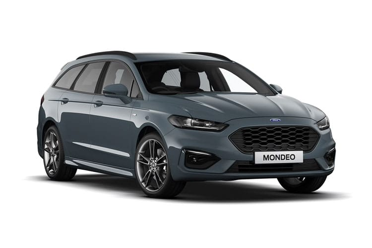 Ford Mondeo Estate 2.0 EcoBlue 190PS Titanium Edition 5Dr Auto [Start Stop] front view