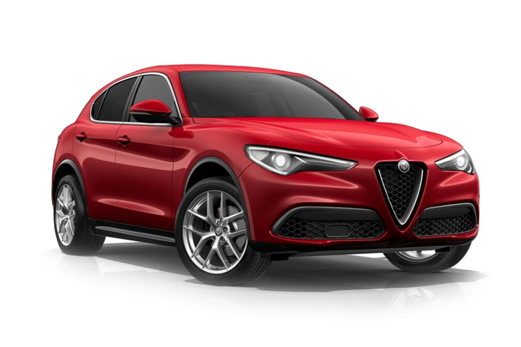 Alfa Romeo Stelvio SUV 2.2 TD 190PS Super 5Dr Auto [Start Stop] [Driver Assistance Plus] front view