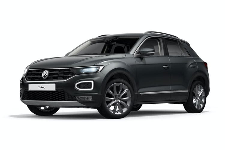 Volkswagen T-Roc SUV 2wd 1.0 TSI 110PS United 5Dr Manual [Start Stop] front view