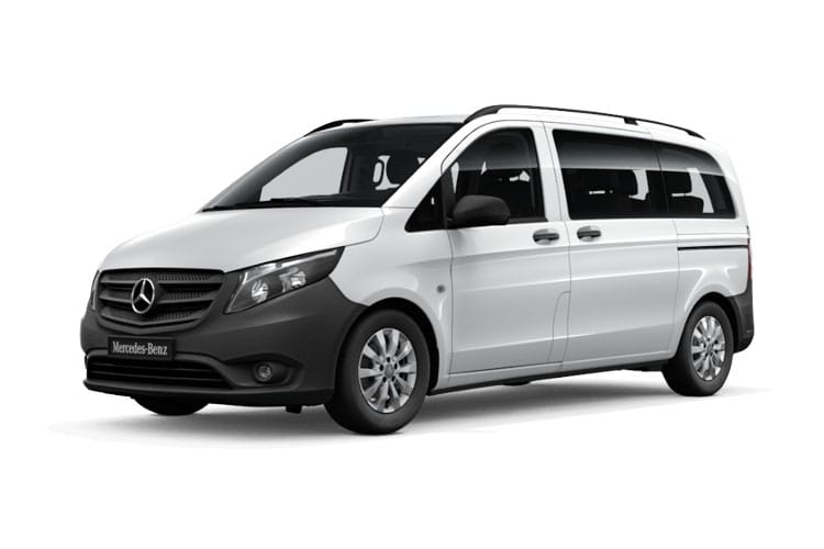 Mercedes-Benz Vito Tourer 116 L1 M1 RWD 2.1 CDi RWD 163PS SPORT Minibus G-Tronic [Start Stop] [8Seat] front view
