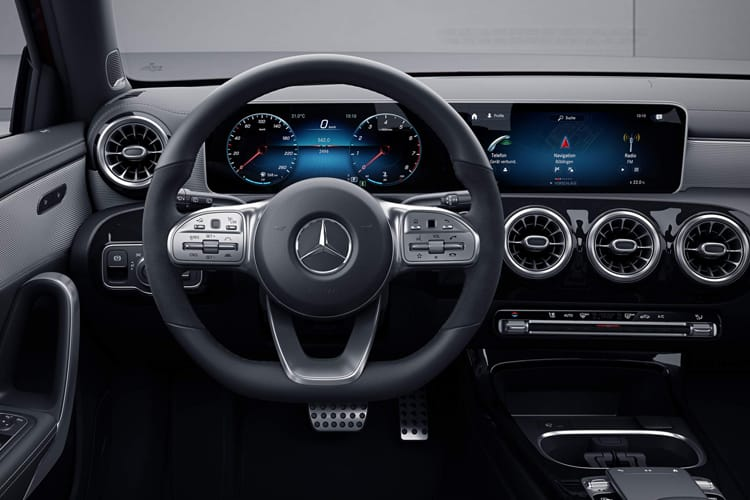 Mercedes-Benz A Class A250 Saloon 4Dr 2.0  224PS AMG Line Premium Plus 2 4Dr 7G-DCT [Start Stop] inside view