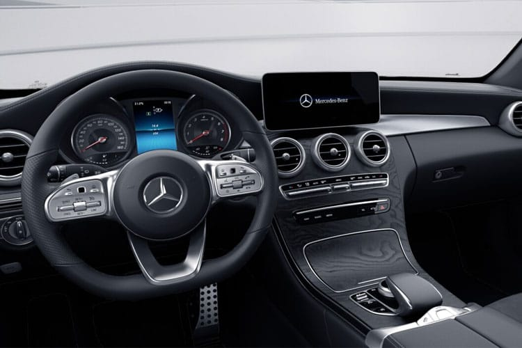 Mercedes-Benz C Class C200 Cabriolet 1.5 MHEV 198PS AMG Line Edition 2Dr G-Tronic+ [Start Stop] inside view