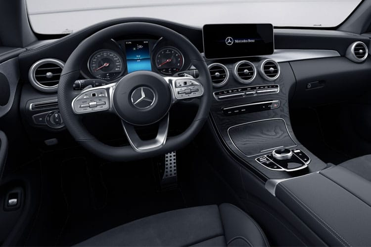 Mercedes-Benz C Class AMG C43 Coupe 4MATIC 3.0 V6 390PS Night Edition Premium Plus 2Dr G-Tronic+ [Start Stop] inside view