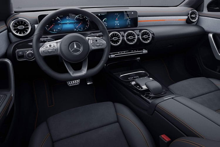 Mercedes-Benz CLA AMG CLA45 ShootingBrake 4MTC+ 2.0  421PS S 5Dr 8G-DCT [Start Stop] inside view