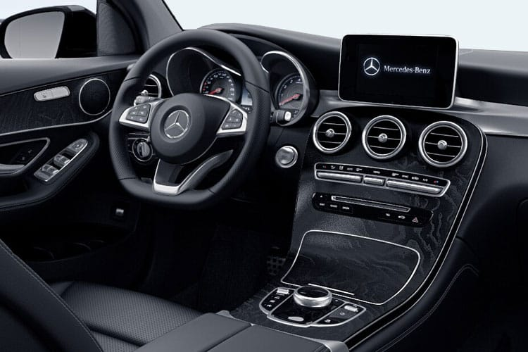 Mercedes-Benz GLC GLC300e Coupe 4MATIC 2.0 PiH 13.5kWh 333PS AMG Line 5Dr G-Tronic+ [Start Stop] inside view