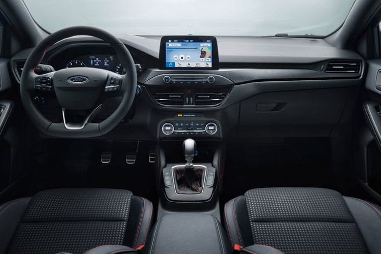 Ford Focus Hatch 5Dr 1.0 T EcoBoost 125PS ST-Line X Edition 5Dr Auto [Start Stop] inside view