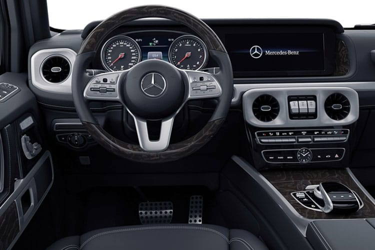 Mercedes-Benz G Class G350 SUV 3.0 d 286PS AMG Line 5Dr G-Tronic+ [Start Stop] inside view
