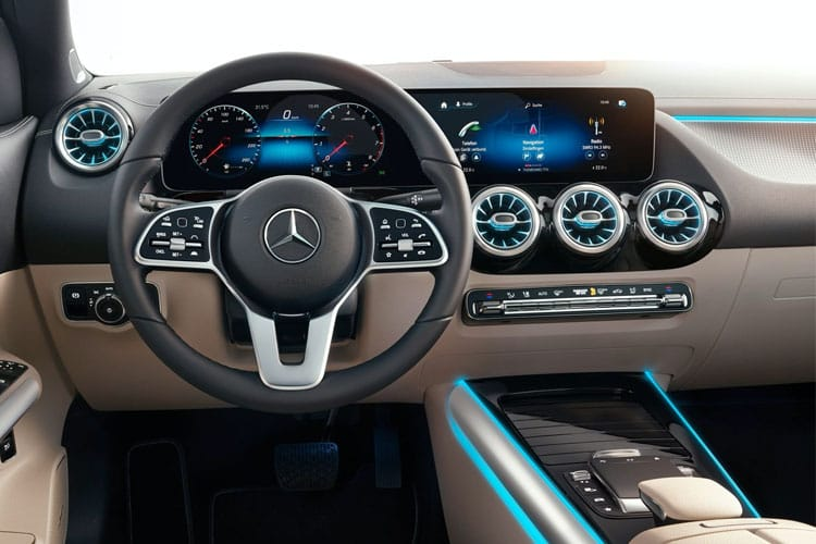 Mercedes-Benz GLA GLA200 SUV 1.3  163PS AMG Line Premium Plus 5Dr 7G-DCT [Start Stop] inside view