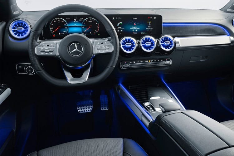 Mercedes-Benz GLB GLB200 SUV 4MATIC 2.0 d 150PS AMG Line Premium Plus 5Dr G-Tronic [Start Stop] inside view