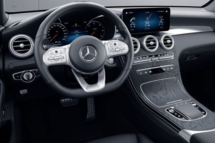 Mercedes-Benz GLC GLC220 SUV 4MATIC 2.1 d 170PS AMG Line Premium 5Dr G-Tronic [Start Stop] inside view