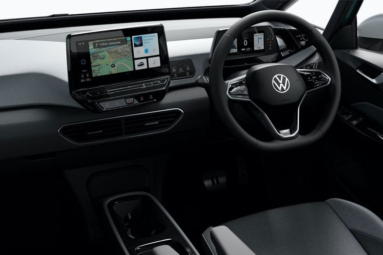 Volkswagen ID.3 Hatch 5Dr Elec Pro 58kWh 107KW 145PS Business 5Dr Auto inside view