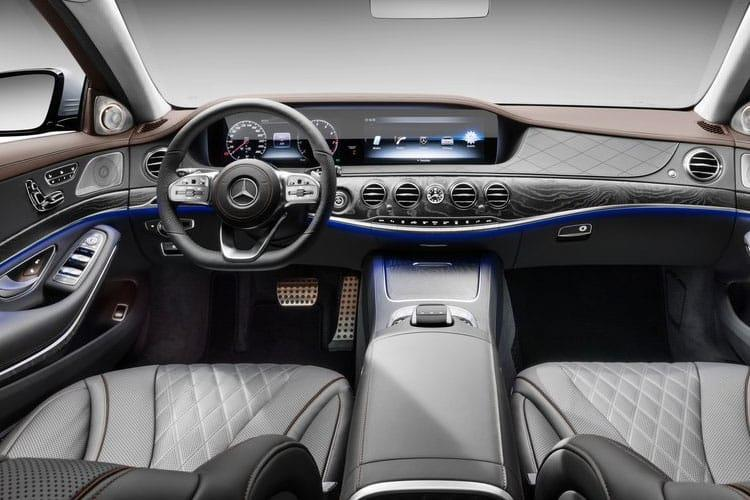 Mercedes-Benz S Class S560eL Saloon 3.0 h V6 PiH 13.5kWh 489PS Grand Edition Executive 4Dr G-Tronic [Start Stop] inside view