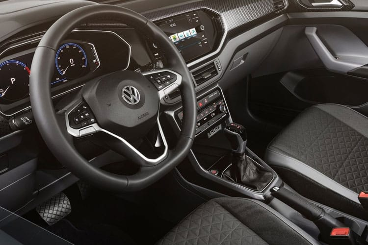 Volkswagen T-Cross SUV 1.0 TSI 95PS United 5Dr Manual [Start Stop] inside view